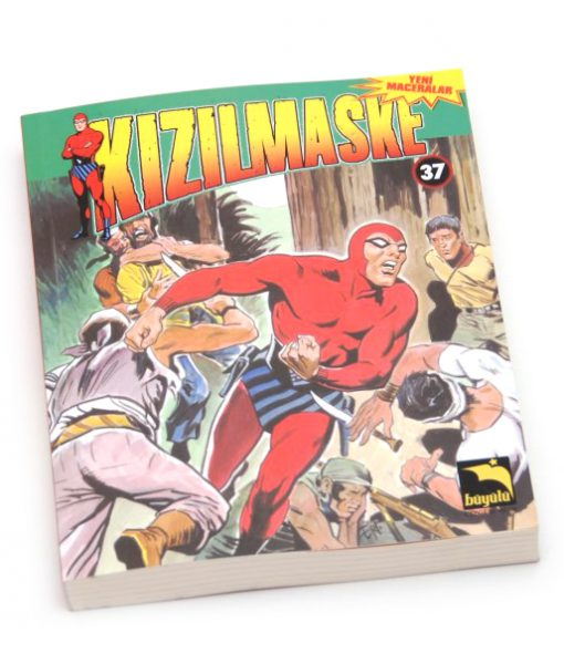 Kızıl Maske Çizgi Roman